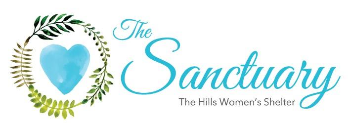 The Sanctuary Hills logo
