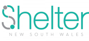 The logo of Shelter New South Wales