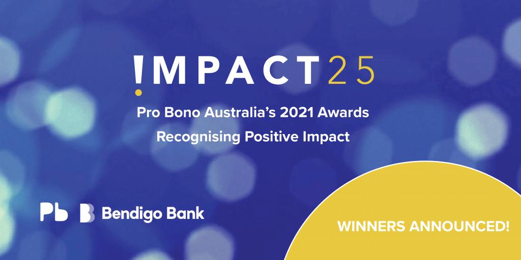 Impact 25 Winner