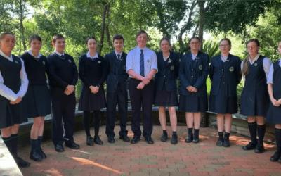 St Paul's Grammar School is Walking the Talk